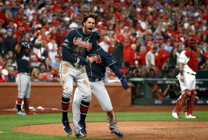 Com reviravoltas no final, Braves superam Phillies por 6 a 5 - The Playoffs