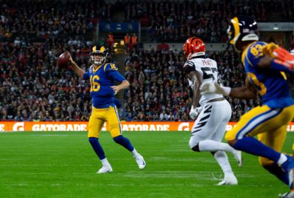Em Londres, Rams jogam 'pro gasto' e vencem Bengals - The Playoffs