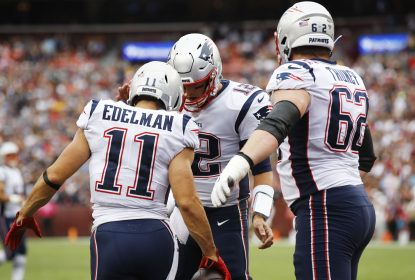 New England Patriots domina Washington Redskins e vence mais uma - The Playoffs