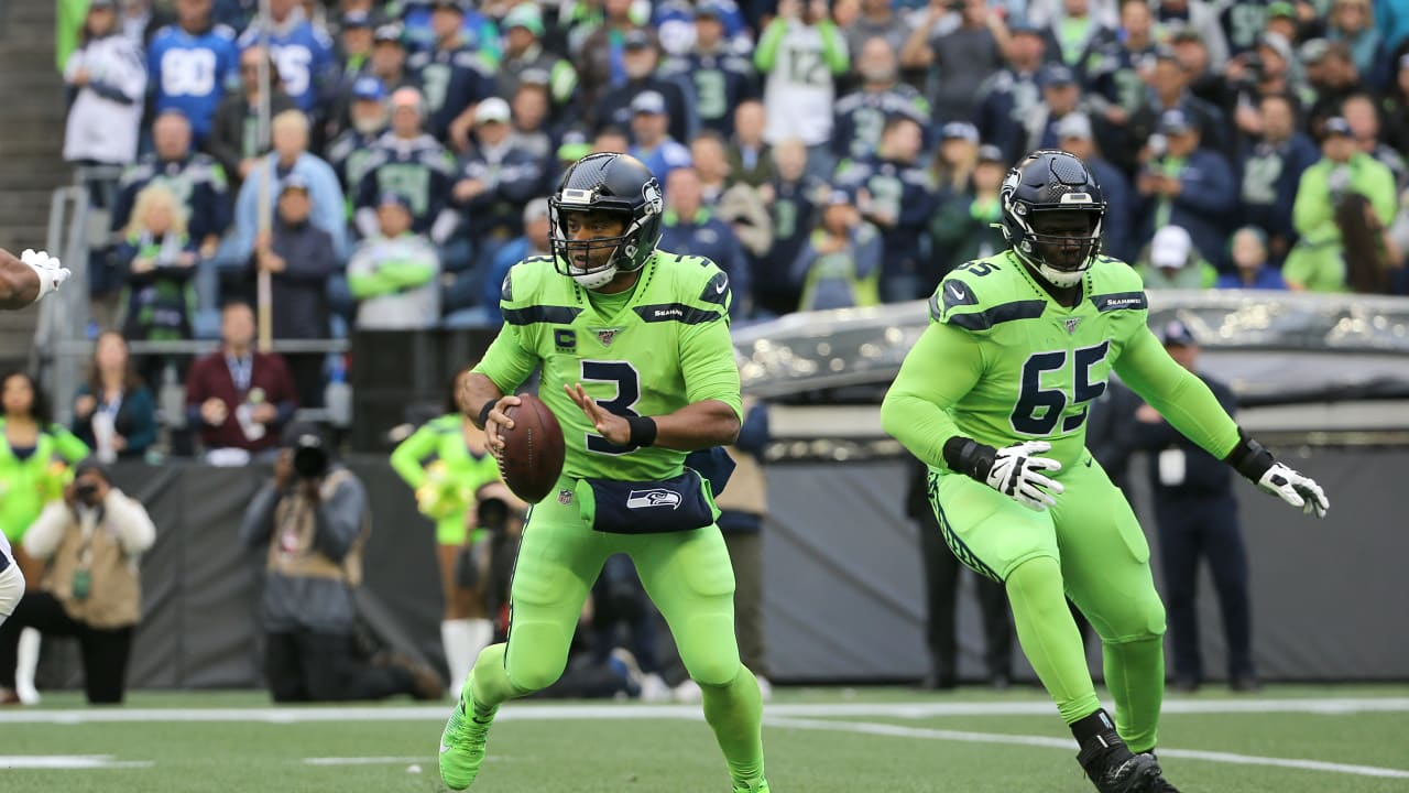 Quarterback do Seattle Seahawks Russell Wilson