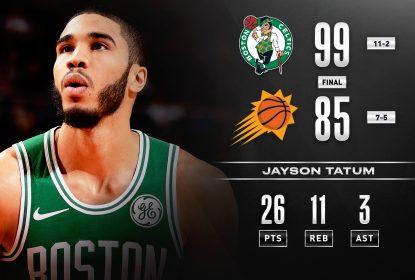 Boston Celtics domina o Phoenix Suns e retoma o caminho das vitórias - The Playoffs