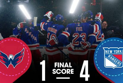 New York Rangers goleia Washington Capitals no Madison Square Garden - The Playoffs