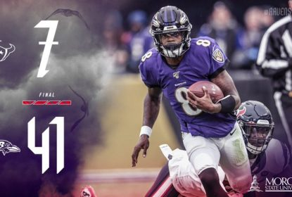 Ravens atropelam Texans com show de Lamar Jackson - The Playoffs