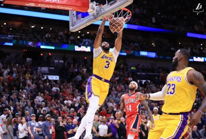 Davis aplica 'lei do ex' e Los Angeles Lakers vence New Orleans Pelicans - The Playoffs