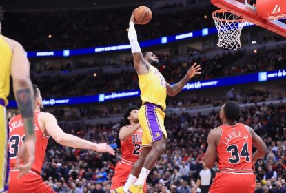 LeBron James - Los Angeles Lakers - Chicago Bulls - NBA