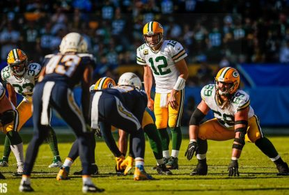 Quarterback do Green Bay Packers Aaron Rodgers