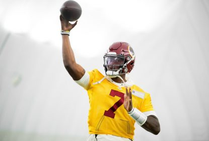 Dwayne Haskins será titular do Washington Redskins contra o Buffalo Bills - The Playoffs