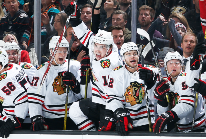 Kane marca na prorrogação e Blackhawks vencem Ducks - The Playoffs