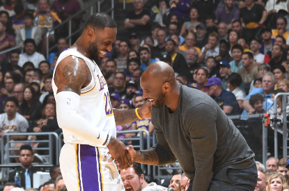 LeBron e Davis exaltam legado de Kobe Bryant nos Lakers - The Playoffs