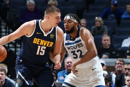 Nuggets batem Timberwolves com bola vencedora de Jokic - The Playoffs