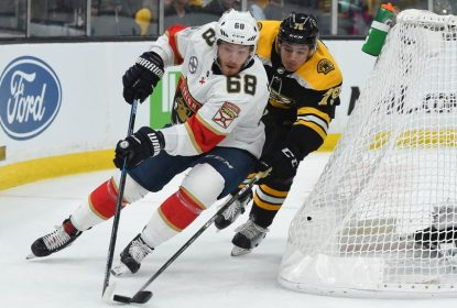 Em jogo sensacional, Florida Panthers derrota Boston Bruins - The Playoffs