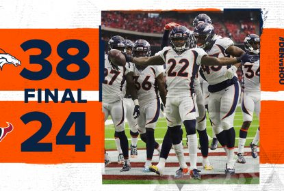 Broncos vencem Texans com boa participação de Drew Lock - The Playoffs