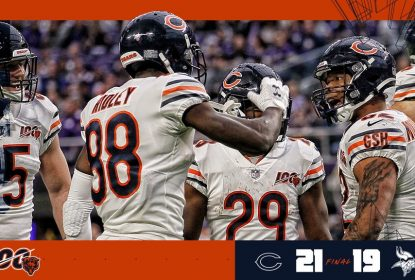 Em jogo morno, Chicago Bears vence Minnesota Vikings no finalzinho - The Playoffs