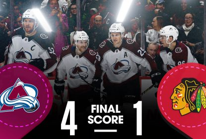Colorado Avalanche domina jogo e derrota Chicago Blackhawks - The Playoffs