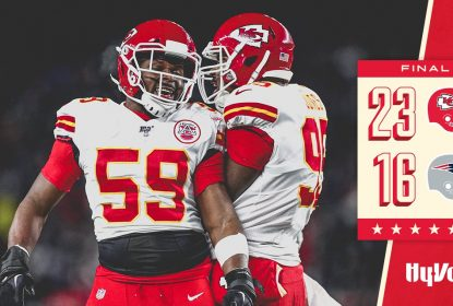 Chiefs sofrem no final, vencem Patriots e se classificam para os playoffs - The Playoffs