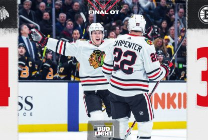 Chicago Blackhawks vence Boston Bruins no overtime - The Playoffs