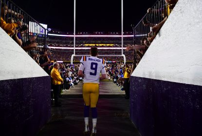 LSU domina Texas A&M com grande partida de Joe Burrow - The Playoffs
