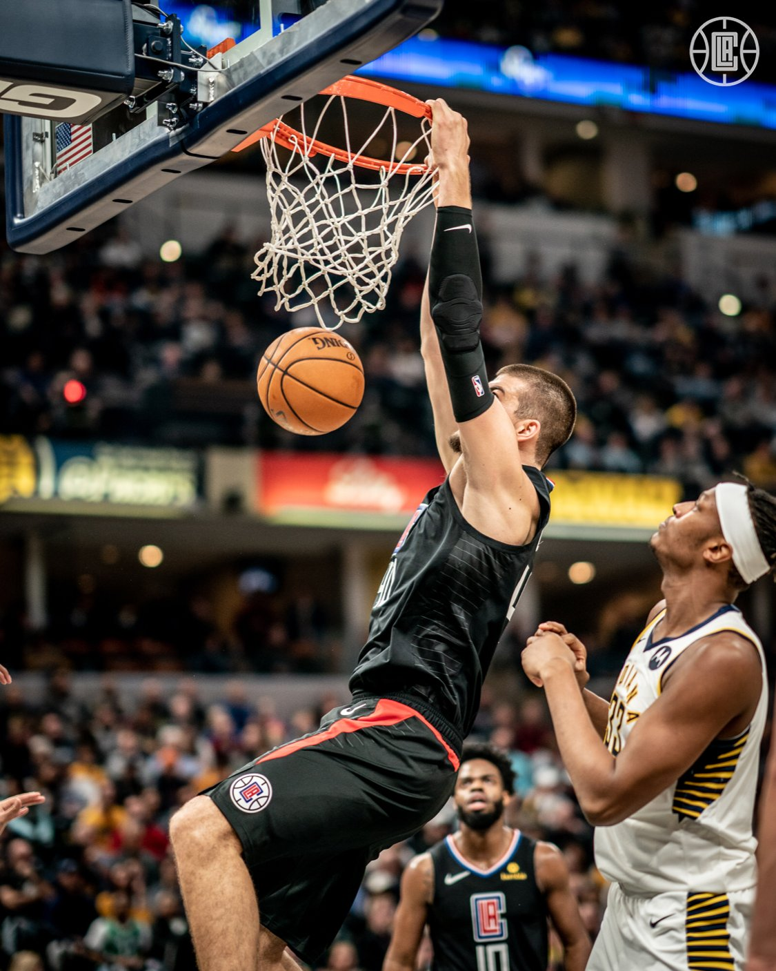 Ivica Zubac - Los Angeles Clippers - Indiana Pacers - NBA
