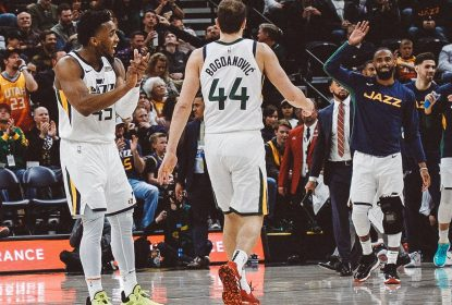 Donovan Mitchell - BoJan Bogdanovic - Utah Jazz - Orlando Magic - NBA