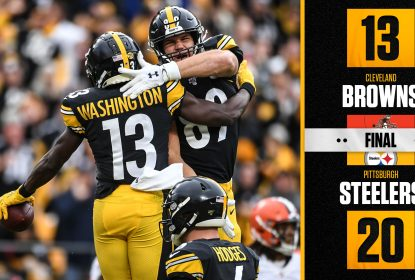 Lei do ex prevalece e Steelers vencem Browns - The Playoffs