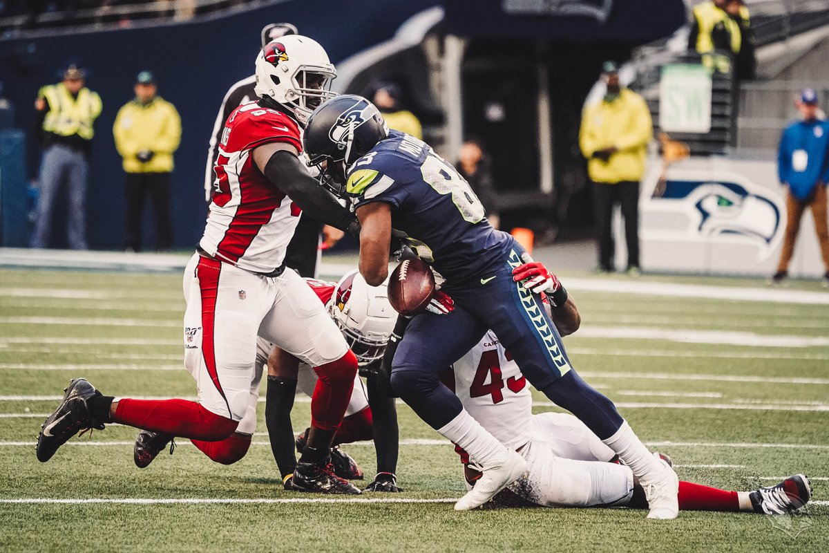 Arizona Cardinals vence Seattle Seahawks pela semana 16 da NFL 2019