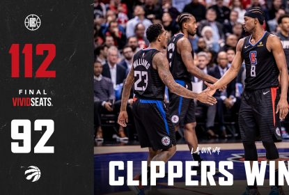 Com homenagem a Kawhi Leonard, Los Angeles Clippers vence Toronto Raptors por 112 x 92 - The Playoffs