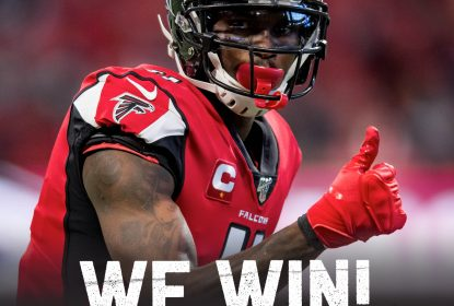 Atlanta Falcons derrota Carolina Panthers