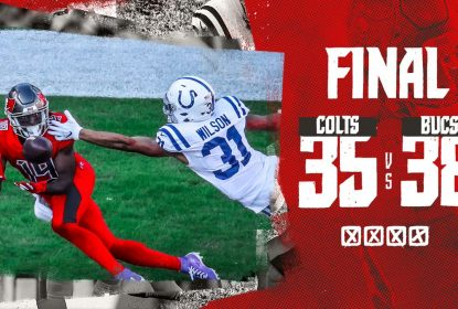 Tampa Bay Buccaneers triunfa em shootout contra o Indianapolis Colts - The Playoffs