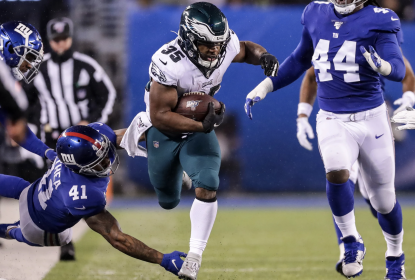 Eagles ganham sobre Giants, 34 a 17, na Semana 17 da NFL 2019
