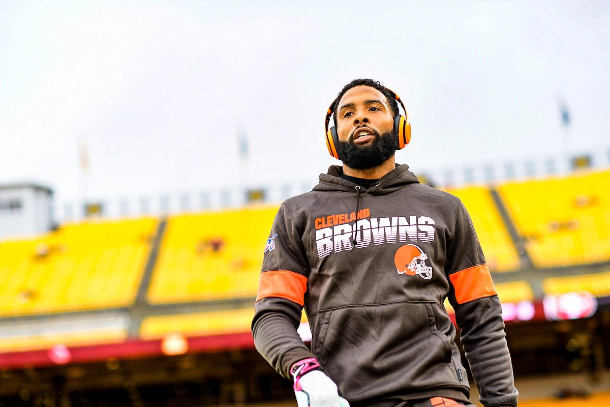 Wide receiver do Cleveland Browns Odell Beckham Jr.