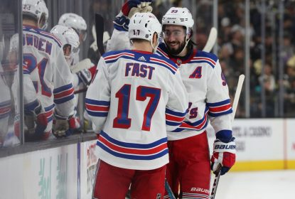 Rangers batem Golden Knights com facilidade fora de casa - The Playoffs