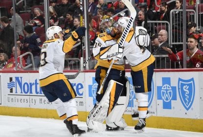 Com direito a gol de Pekka Rinne, Predators vencem Blackhawks - The Playoffs