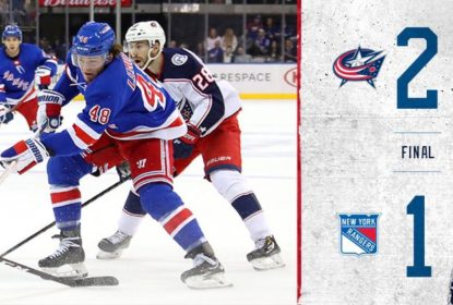 Blue Jackets derrotam os Rangers no Madison Square Garden por 2 a 1 - The Playoffs