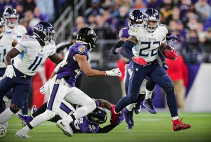 Titans surpreendem os Ravens, vencem com autoridade e avançam para a final da AFC - The Playoffs