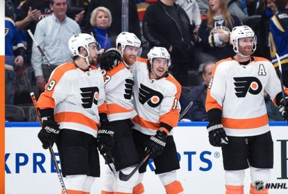Flyers vencem Blues com gol de Voracek no overtime - The Playoffs