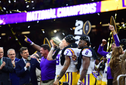 Com show de Burrow, LSU vence Clemson e conquista o título do College Football Playoff - The Playoffs