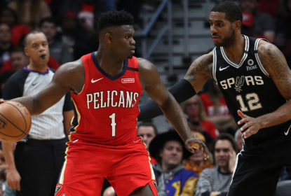 Zion Williamson - LaMarcus Aldridge - New Orleans Pelicans - San Antonio Spurs - NBA