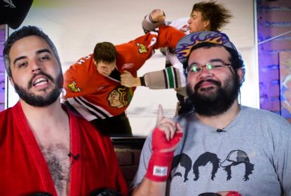 VÍDEO: Reagindo às famosas brigas da NHL - The Playoffs