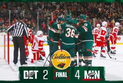 Minnesota Wild vence Detroit Red Wings e deixa lanterna da divisão - The Playoffs