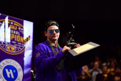 Joe Burrow, vencedor do Heisman e quarterback de LSU