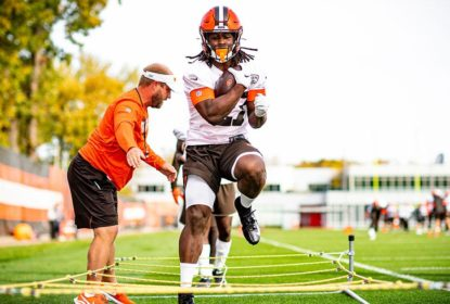 Running back do Cleveland Browns Kareem Hunt