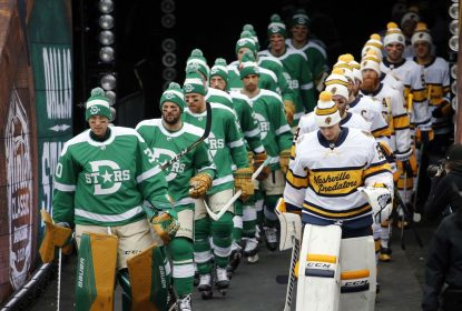 De virada, Stars vencem Predators no Winter Classic - The Playoffs