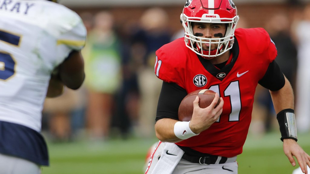 Quarterback de Georgia Jake Fromm Draft NFL 2020