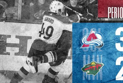 Colorado Avalanche passa por cima do Minnesota Wild e vence 4ª seguida - The Playoffs