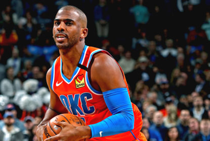 Chris Paul OKC x Spurs