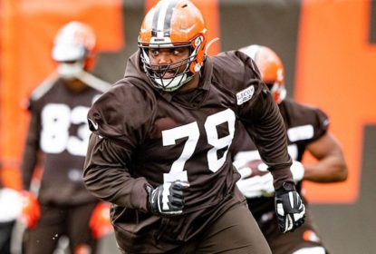 Greg Robinson, offensive tackle dos Browns, é preso com 71 kg de maconha - The Playoffs