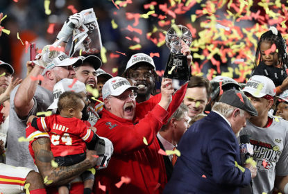 Andy Reid - Kansas City Chiefs Super Bowl LIV Champions