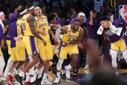 LeBron brilha no último quarto e Lakers vencem os Spurs no Staples Center - The Playoffs