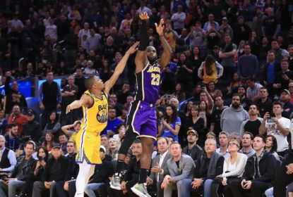 Lakers sofrem no fim, mas ganham dos Warriors - The Playoffs