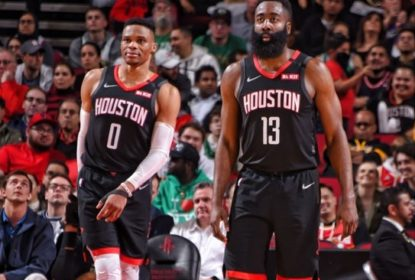 James Harden - Russell Westbrook - Houston Rockets - Boston Celtics - NBA